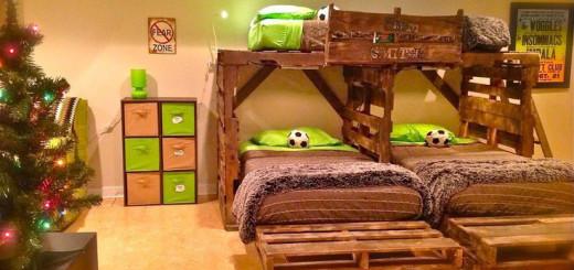 Letto a castello per bambini