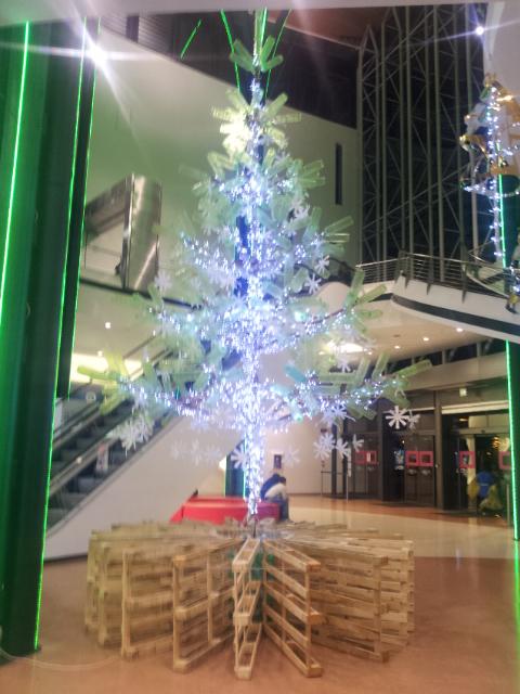 Albero di Natale pallet