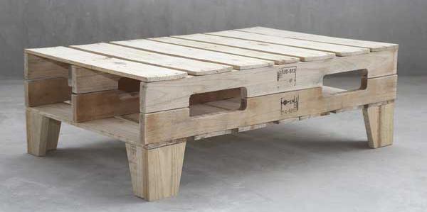 Idee per realizzare tavolini con pallet table idee pallet - Mobili con bancali di legno ...