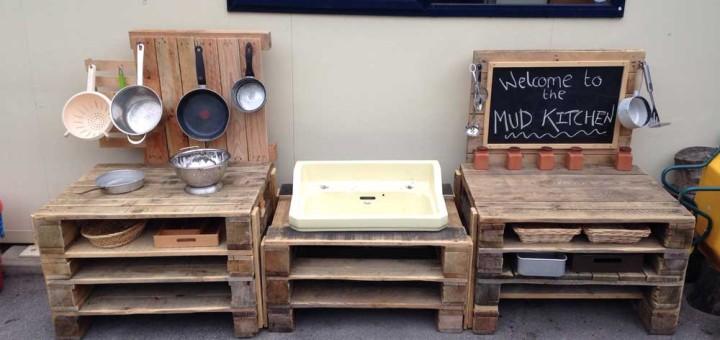 Realizzare una cucina da giocare per i bambini con i pallet  Idee Pallet
