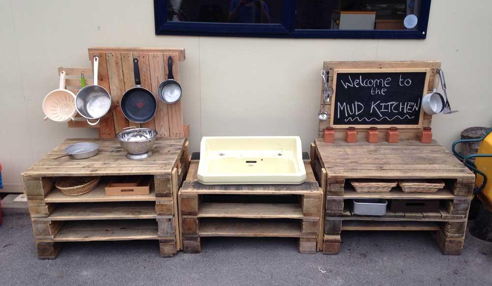 cucina-bimbi-pallet-riciclo | Idee Pallet