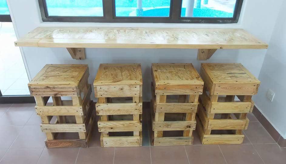Sgabelli con bancali: sgabelli in legno fai da te cerca con google